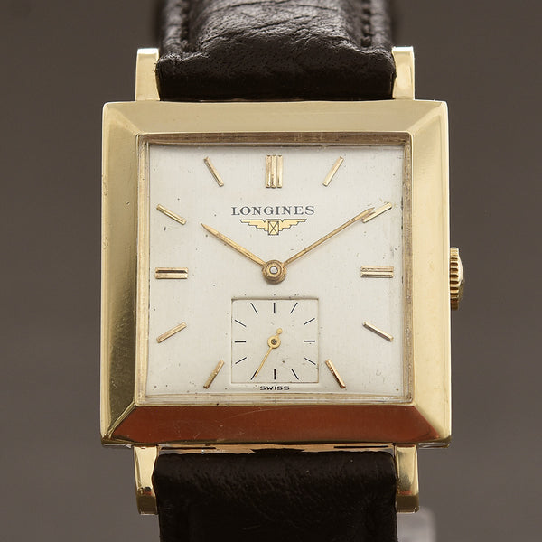 1953 LONGINES Gents 14K Solid Slim Swiss Vintage Watch