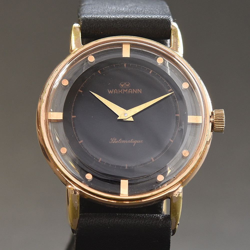 50s WAKMANN Skelomatique Automatic Gents Watch