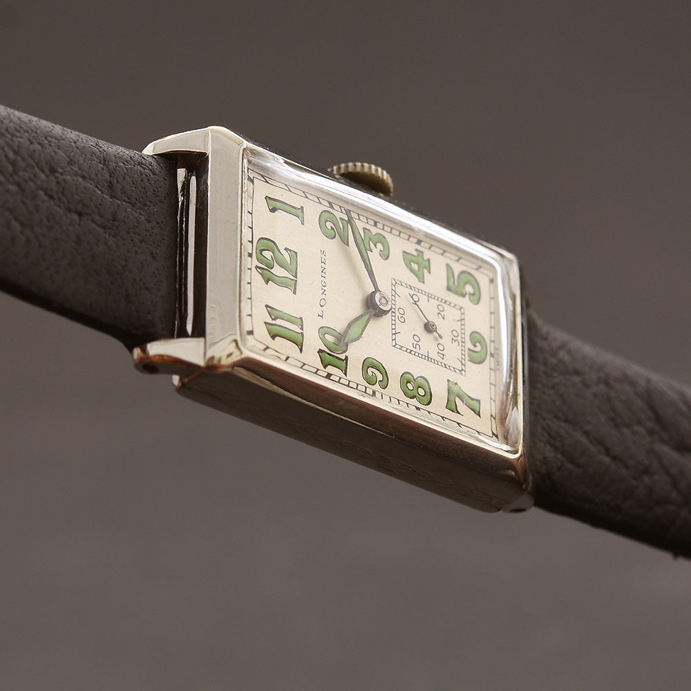 1929 LONGINES Gents Art Deco Dress Watch