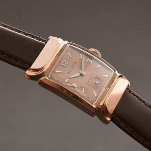 1948 BULOVA USA 'Squadron' Swiss Vintage Gents Dress Watch