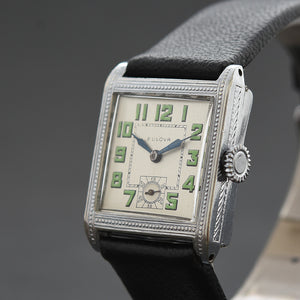 1928 BULOVA 'Brewster' Swiss Gents Art Deco Watch