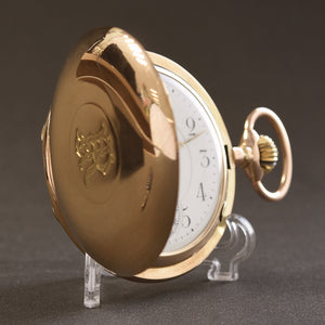 20s CELLINI 14K Gold Hunter/Savonette Pocket Watch