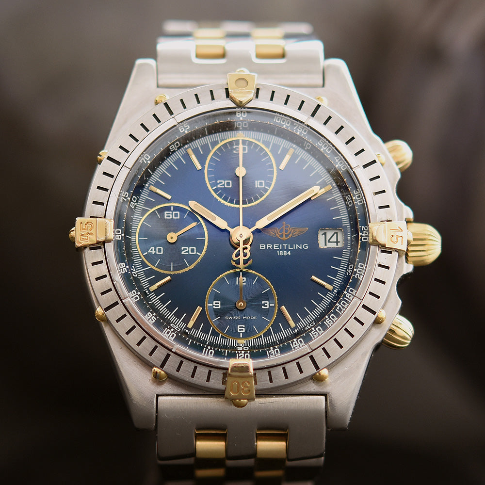 BREITLING Chronomat B13050 Tu-Tone  Automatic Chronograph Watch