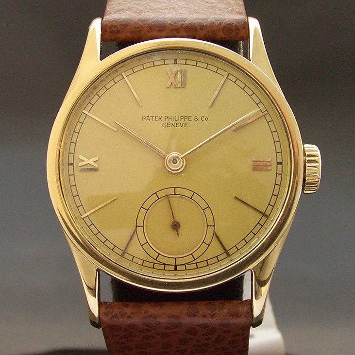"1940 PATEK PHILIPPE ""Calatrava' Ref. 96 Gents 18K Gold Watch"