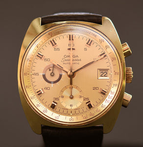 70s OMEGA Seamaster Automatic Chronograph Watch 176.007