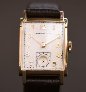 1949 HAMILTON USA 'Perry' Gents Vintage Dress Watch