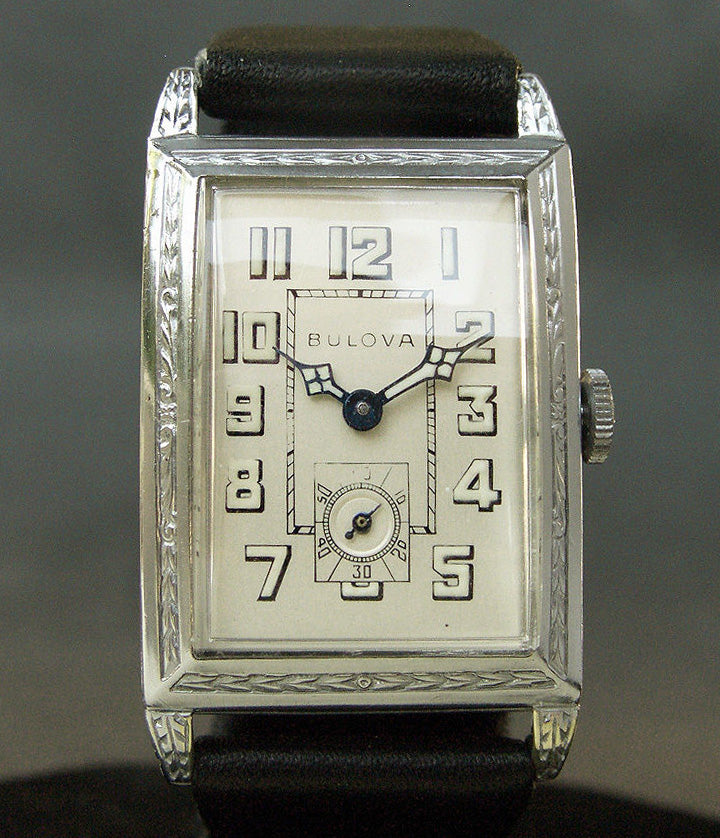 1928 BULOVA 'Dictator' Gents Art Deco Watch