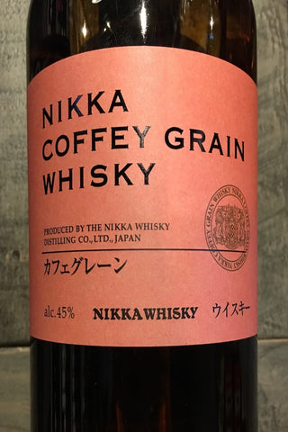 Nikka Japanese Single Malt Whisky Coffey Grain 750ml