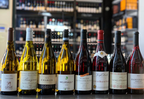 "11/14 Wine Class ""Introduction to Burgundy"""