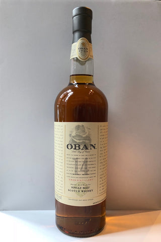 Oban 14 Year Single Malt Whisky