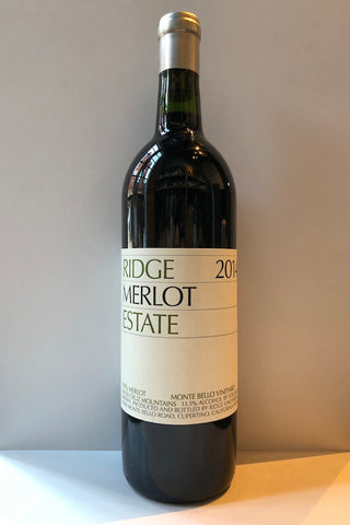 Ridge Vineyards, Estate Merlot 2014