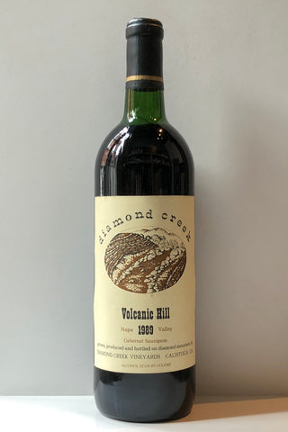 Diamond Creek Vineyards, Volcanic Hill Cabernet Sauvignon 1989