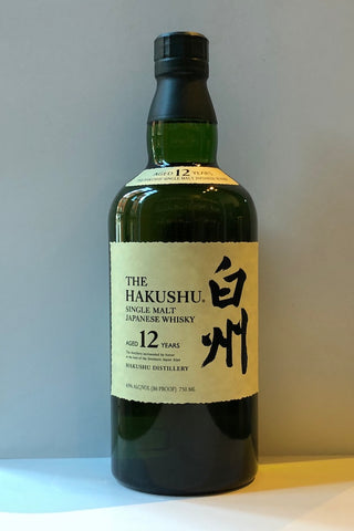 The Hakushu Japanese Single Malt Whisky 12 Year