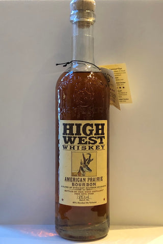 High West American Prairie Bourbon Whiskey 750ml
