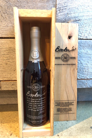 Booker's Limited Edition 30th Anniversary Small Batch Bourbon Whiskey 750ml