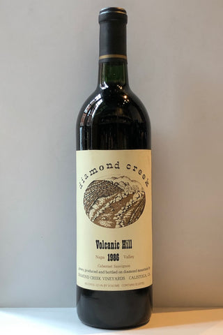 Diamond Creek Vineyards, Volcanic Hill Cabernet Sauvignon 1986