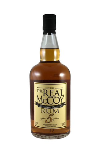 The Real McCoy 5 Year Rum 750ml