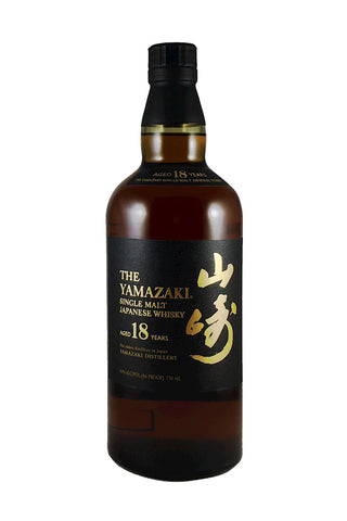 Yamazaki Single Malt Japanese Whisky 18 Years 750ml