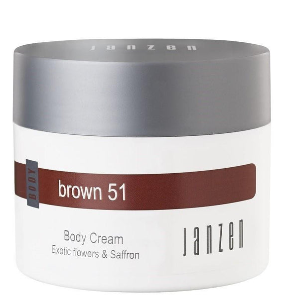 JANZEN Body Cream Brown 51 - 200 ml