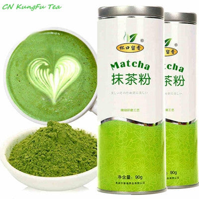 Matcha Green Tea Powder w/ caddy jar