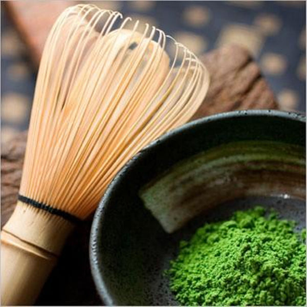 Matcha Whisk & Organic Matcha Green Tea (250g)