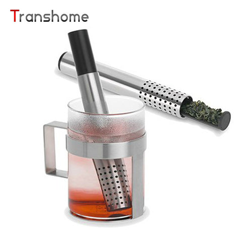 Transhome Green Tea Infuser Stainless Steel Pipe