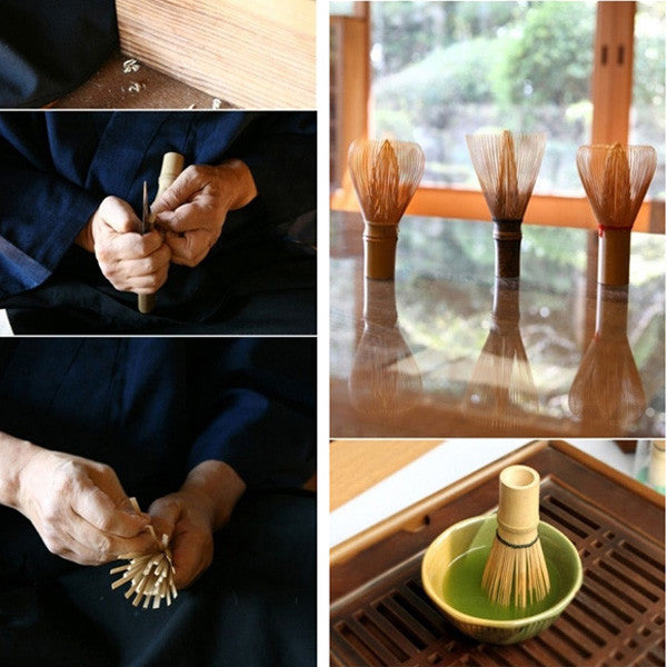 Matcha Powder Whisk Green Tea Brush