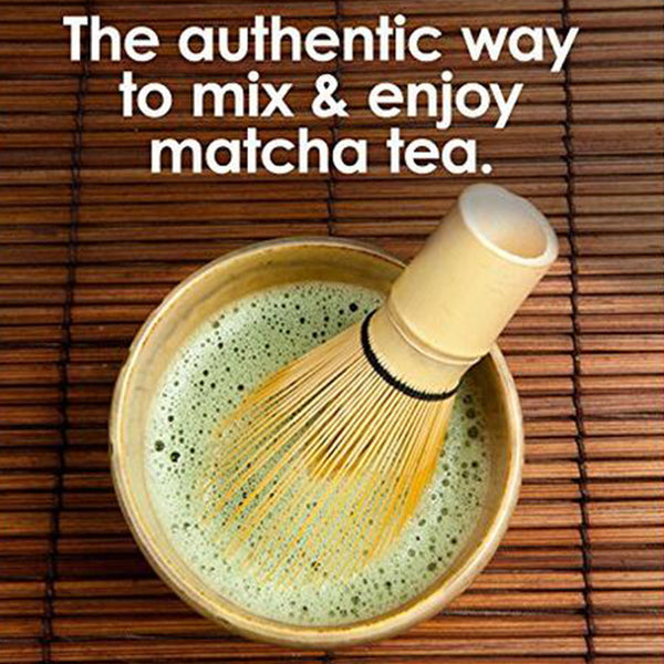 100-prong Matcha Powder Whisk (Bamboo)