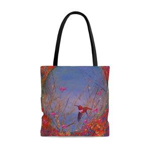 Sunset Allen AOP Tote Bag