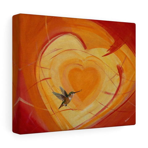 A Heart for Allen -Canvas Gallery Wraps