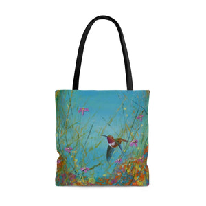 Allen in Wonderland - Tote Bag