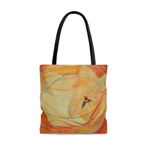 Curious  Hummer  Tote Bag