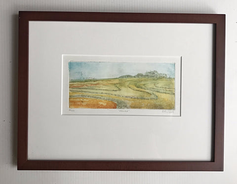 12x16 framed Harvest