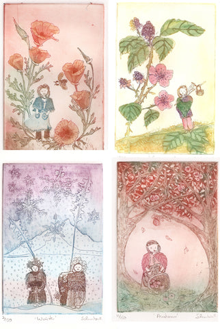Four Season Flower Fairies