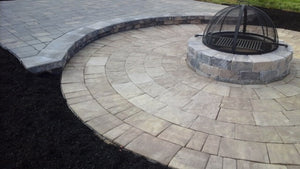 "Save $250 on a 12"" x 30"" fire pit & 10' circle patio at Mountain View Mulch"
