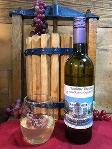 $10 for $20 at any Bouchette Vineyards location