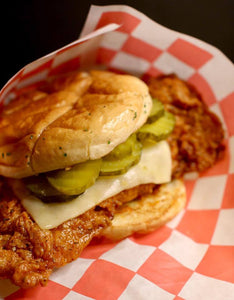 Half Off at the Home of the Hot Chicken Sandwich at Blazin' J's