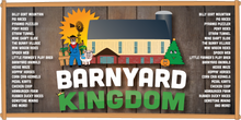 $25 For Family Four Pack Admission to the Barnyard Kingdom & 1 Large Family-Sized Fresh Cut French Fry - Reg $50