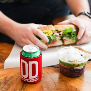 Save $10 on delivery of a meal from over 100 restaurants at Delivery Dudes