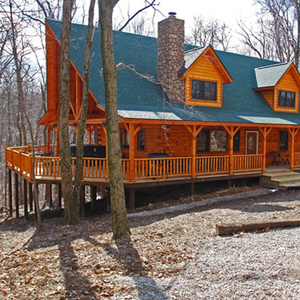 Save $300 on a 3 night, weekday, 5 star cabin vacation in OH (sleeps 18)