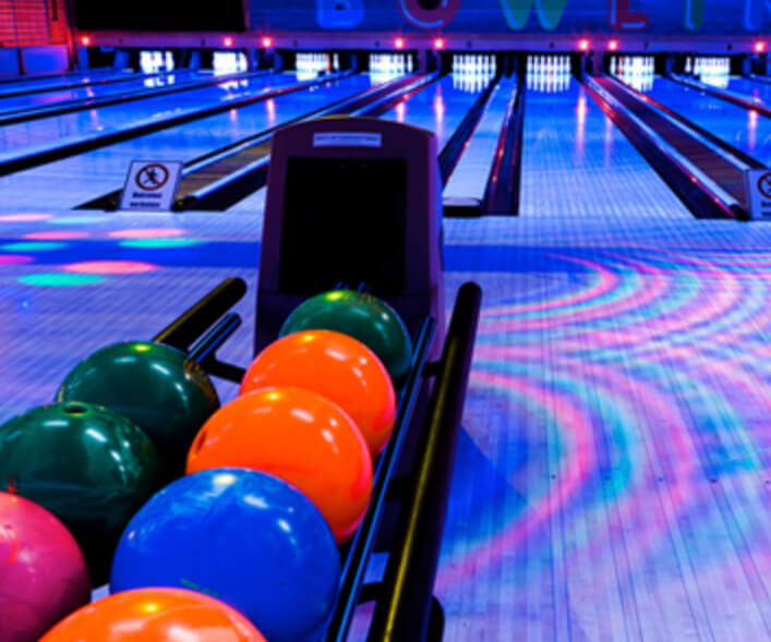Save $25 Sat. & Sun. Family Glow Bowl at Hiester Lanes