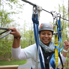 $58 for Admission of 4 to Flying V Ziplining OR the Elevated Obstacle Course (Reg. $116)
