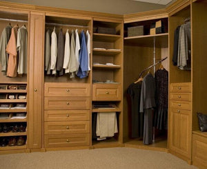"1/2 Off Price for 50 - 65"" Custom Closet Unit at Top Shelf"