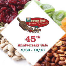 $8 for $16 Sweets and Snacks at Weaver Nut Company