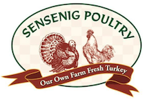 $10 for $20 at any Sensenig Poultry location
