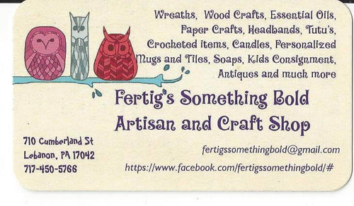 $10 for $20 on gift & craft items at Fertig's