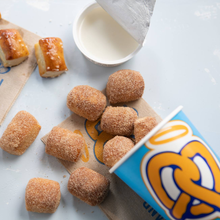 $10 for Party Bucket of Pretzel Nuggets Regular or Cinnamon (Reg $20)