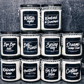 $15 for $30 worth of candles & one of a kind gifts at Life Moments Candle Co.