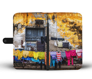 Custom wallet case. Laundry, Havana.