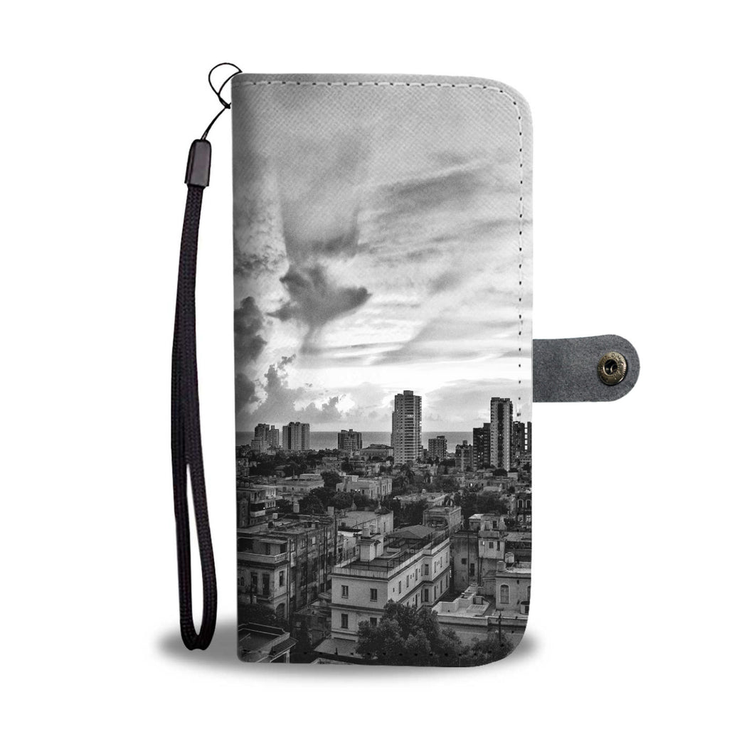 Custom wallet case. Original photography. Vedado Neighborhood. Havana